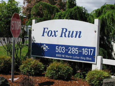 Fox Run Is Located In The Northeast Area Of Portland Close To Transit And Major Highways Restaurants Airport Hotels Entertainment