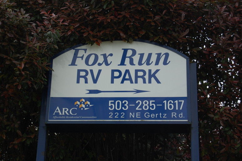 RV Fox Run Park Rates